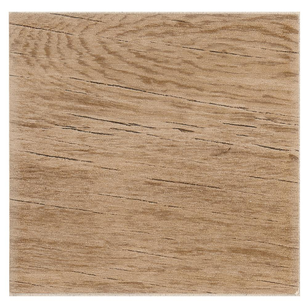 Msi Sonoma Oak 6 In X 24 Glazed Ceramic Floor And Wall Tile 14 Sq Ft Case Nsonoak6x24 The Home Depot