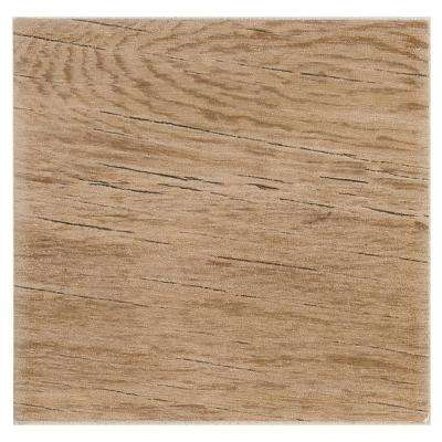 Eclectic Vintage Timeworn Oak 6 in. x 6 in. Ceramic Wall Tile (12.5 sq. ft. / Case)