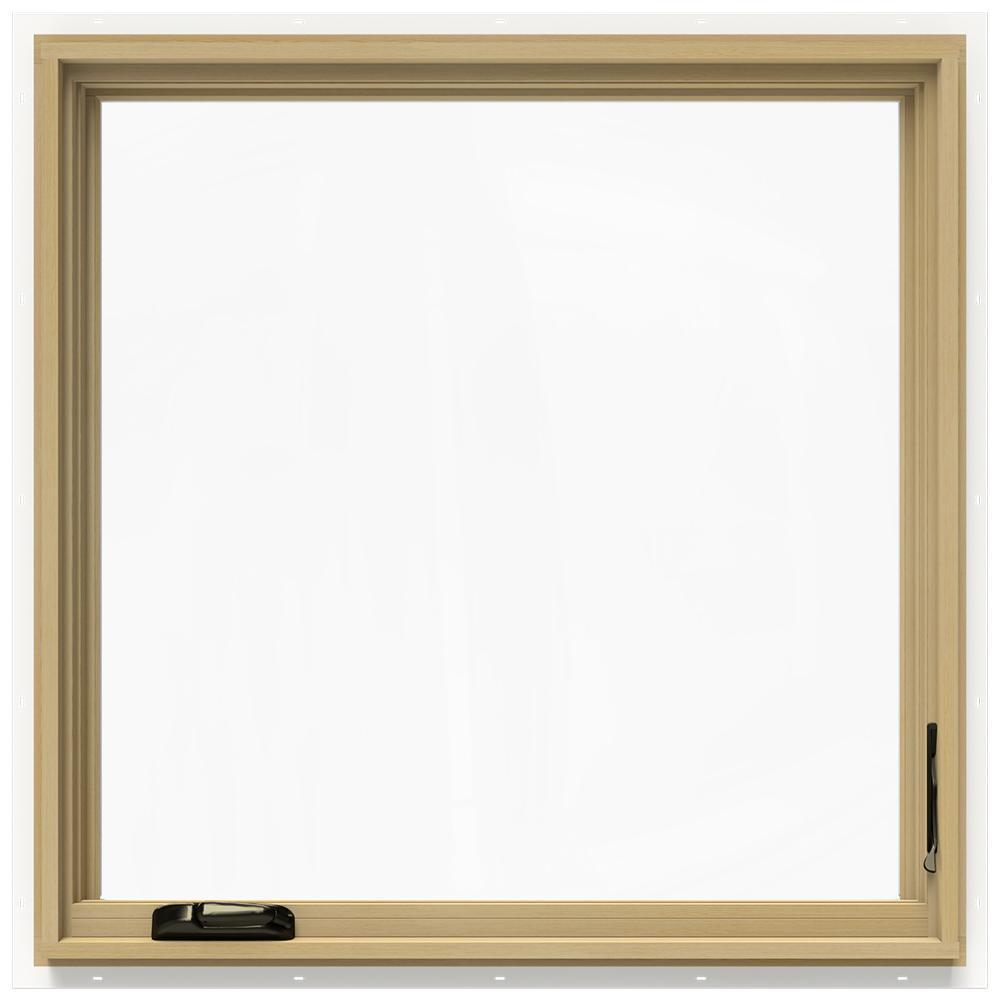 36.75 in. x 36.75 in. W-2500 Right-Hand Casement Wood Window