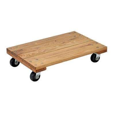 Economy 900 lb. Capacity 16 in. x 24 in. Hardwood Dolly