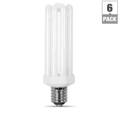 300W Equivalent Daylight (6500K) PL Mogul Base CFL Replacement Light Bulb (Case of 6)