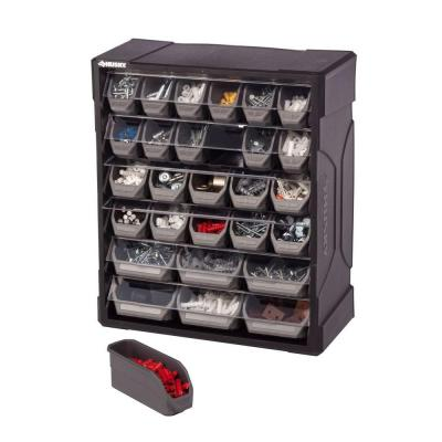 Husky Drawer Small Parts Organizer Storage Small Bins Rack Hardware Accessories