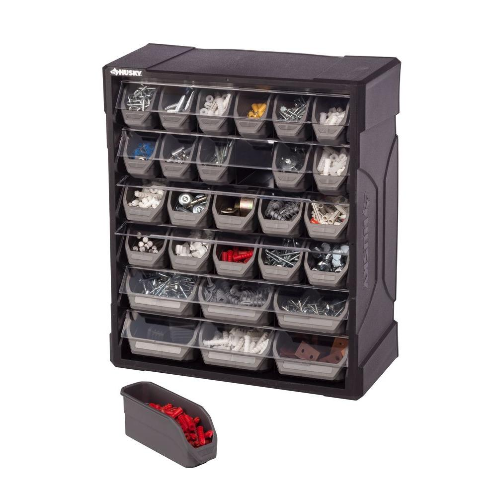 Husky 28 Drawer Small Parts Organizer