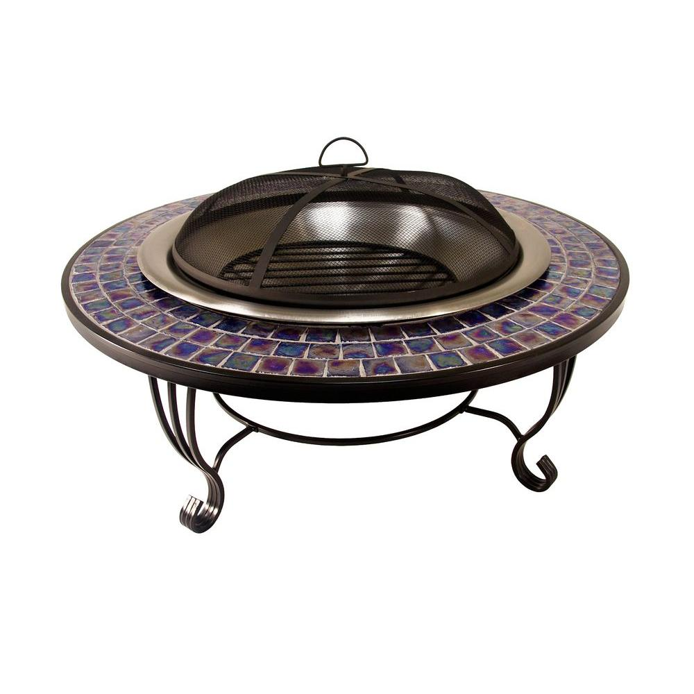 Catalina Creations Glass Mosaic Fire Pit