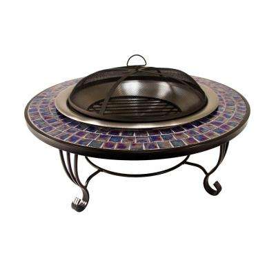 Glass Mosaic Fire Pit