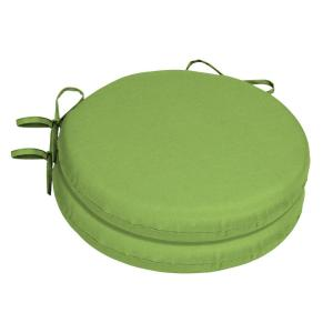Home Decorators Collection 15 X 15 Sunbrella Canvas Gingko Round Outdoor Chair Cushion 2 Pack Ah1r460b D9d2 The Home Depot