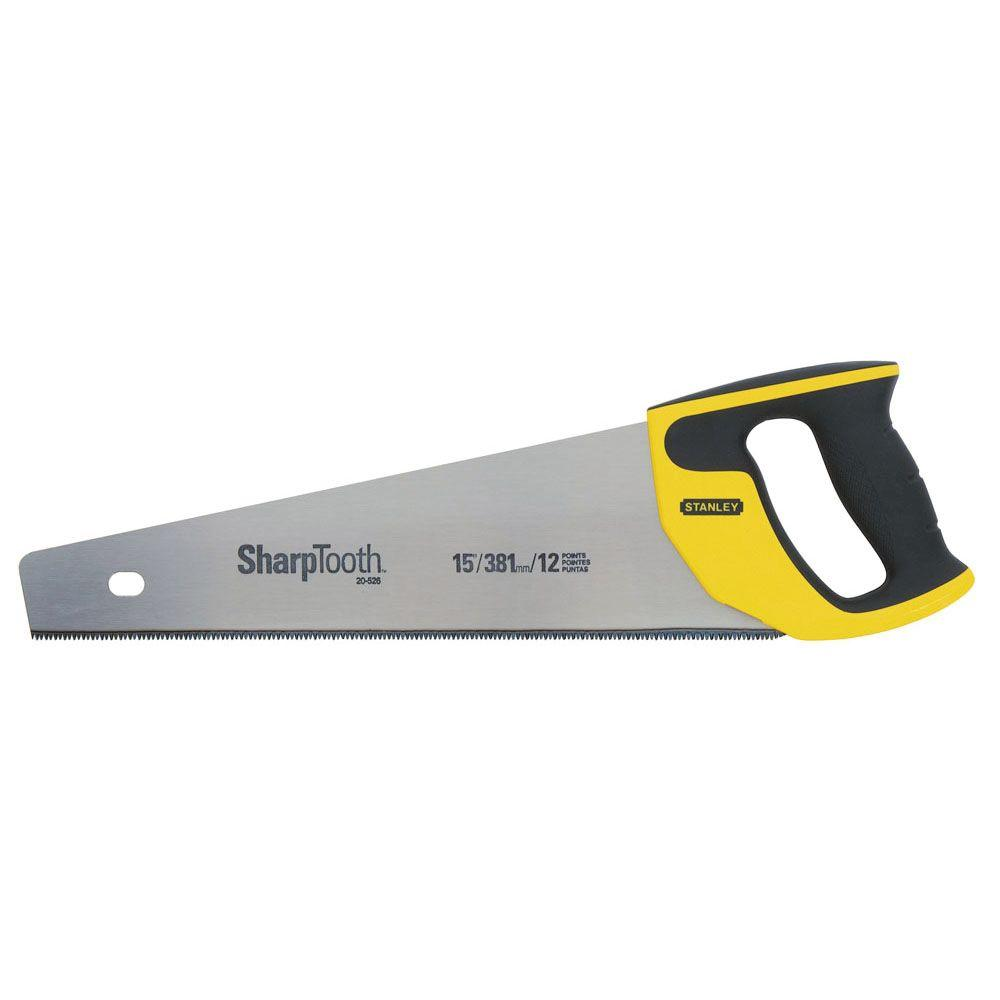 Stanley 15 in. Sharp-Tooth Hand Saw
