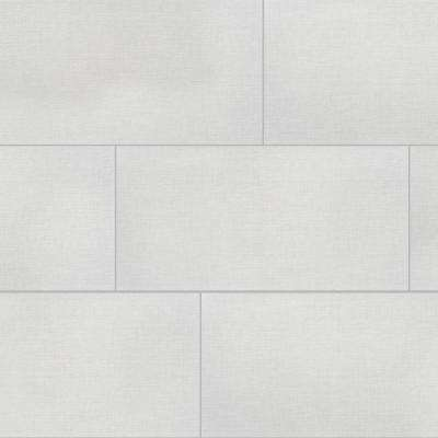 Royal Linen White 12 in. x 24 in. Porcelain Floor and Wall Tile (425.6 sq. ft. / pallet)