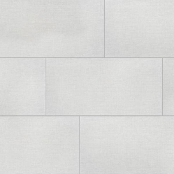 Florida Tile Home Collection Royal Linen White 12 In X 24 In Porcelain Floor And Wall Tile 425 6 Sq Ft Pallet Chderyl1012x24p The Home Depot