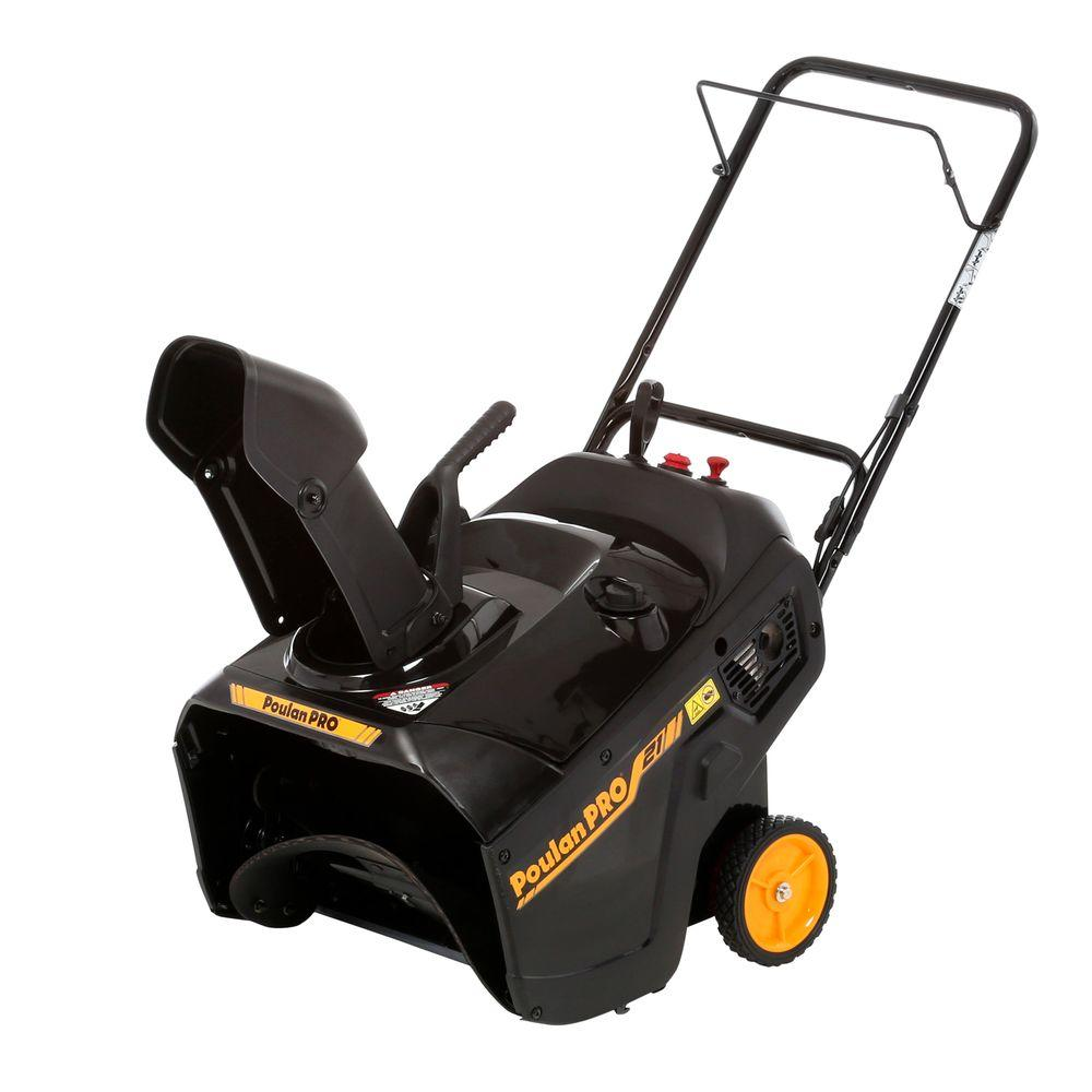 Poulan Pro PR100 21 in. Single-Stage Gas Snow Blower