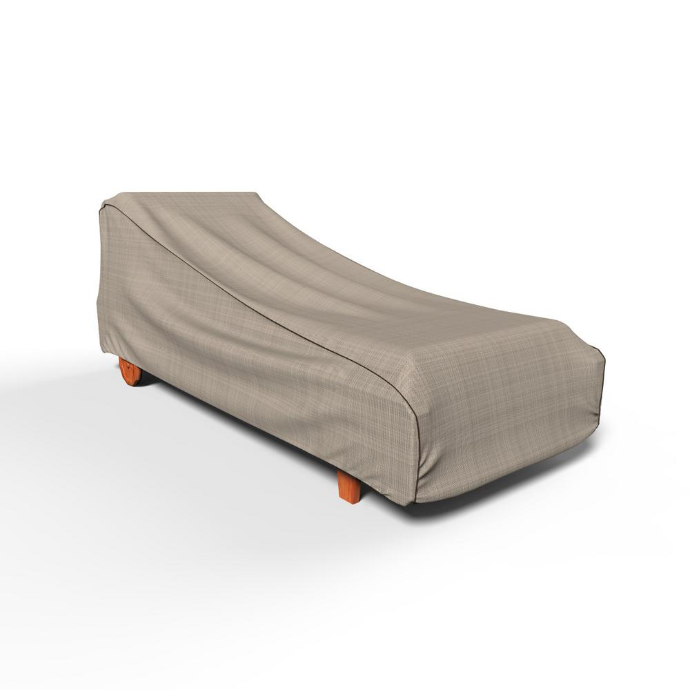 Budge English Garden Single Extra Large Patio Chaise Covers P2w02pm1