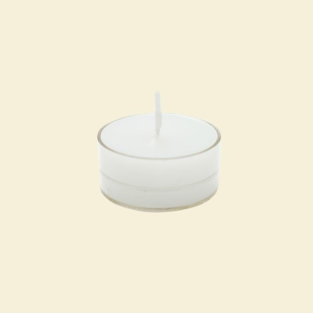 1.5 in. White Citronella Tealight Candles (50-Pack), Whites
