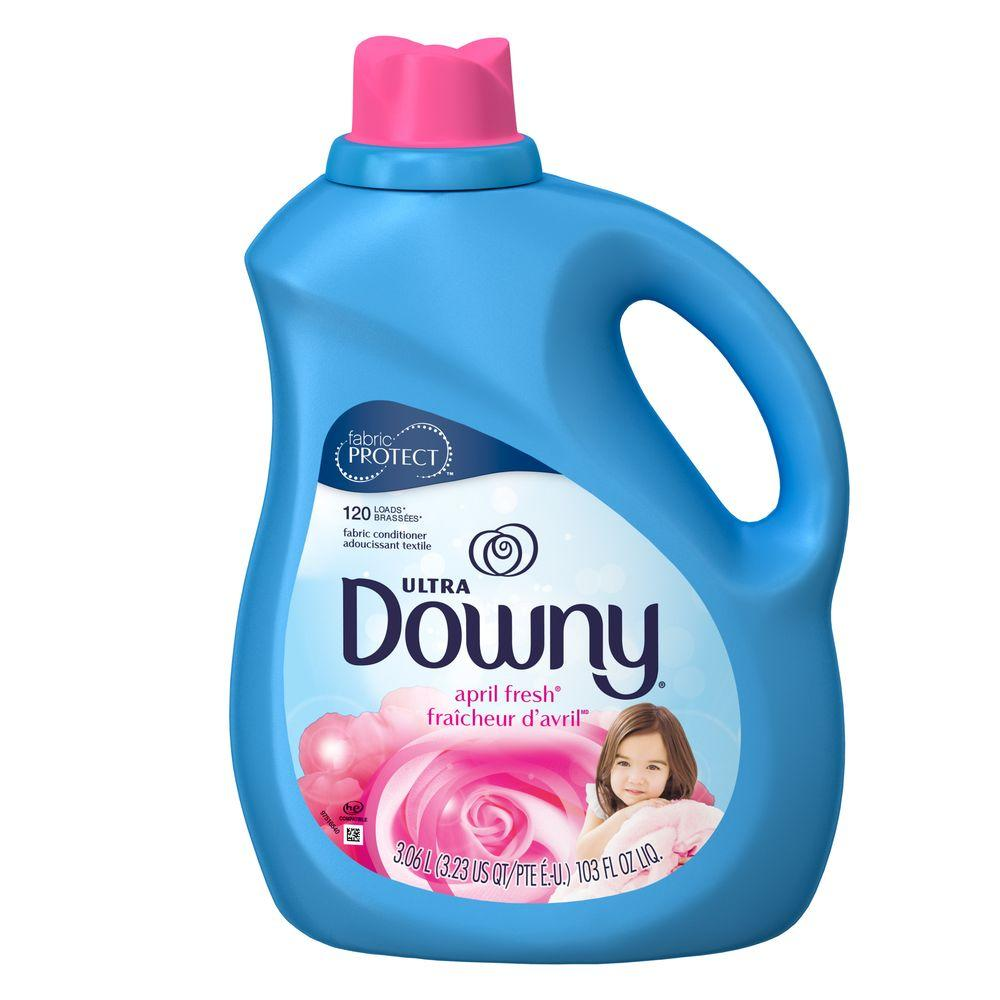 Downy 103 Oz April Fresh Liquid Fabric Softener 120 Loads