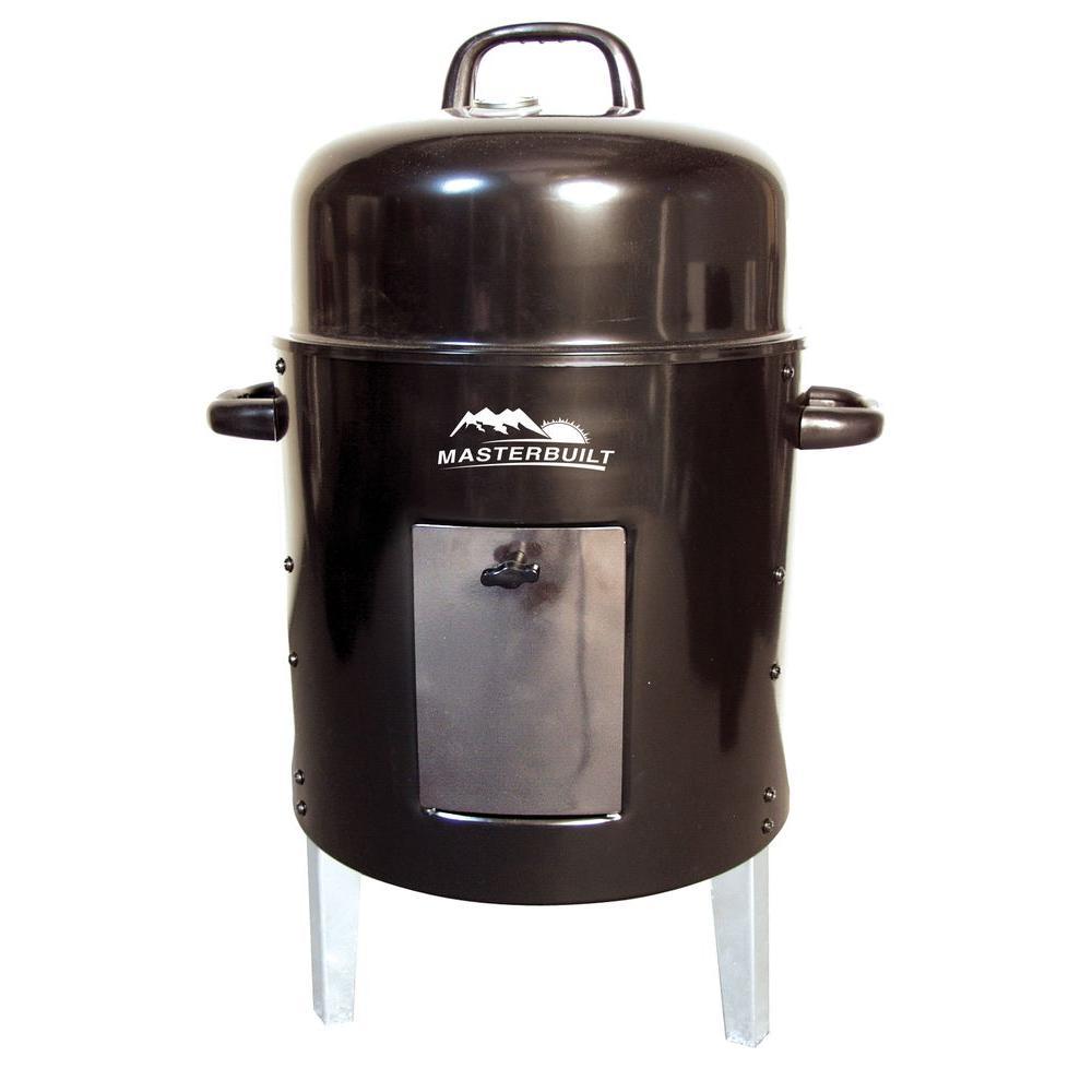 Masterbuilt Electric Grill ~ Masterbuilt charcoal bullet smoker the home depot