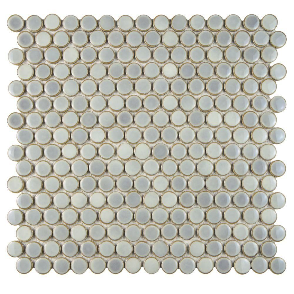 Penny - Mosaic Tile - Tile - The Home Depot