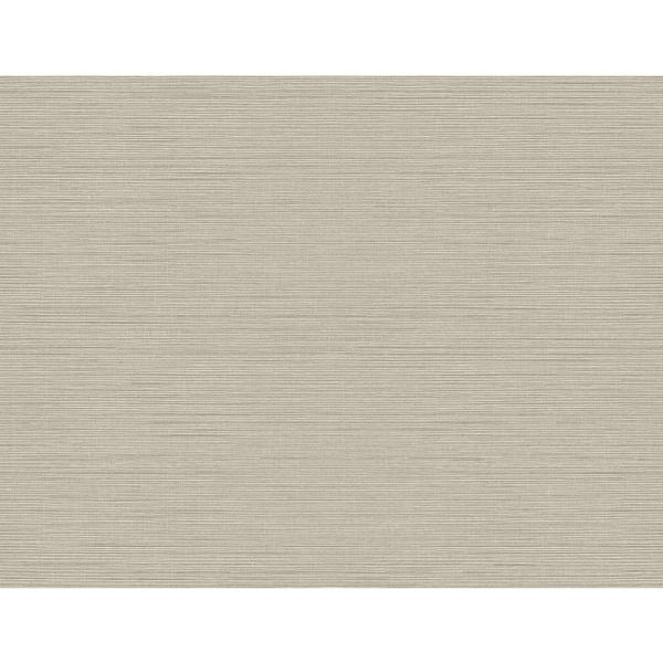 Kenneth James 60.8 sq. ft. Agena Grey Sisal Wallpaper 2765-BW41004