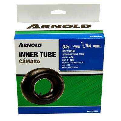 Replacement Inner Tube for 4.80 x 4.00 Tire with 8 in. Rim