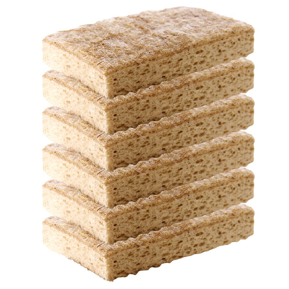 Scotch-Brite Greener Clean Non-Scratch Scrub Sponge (6-Pack)