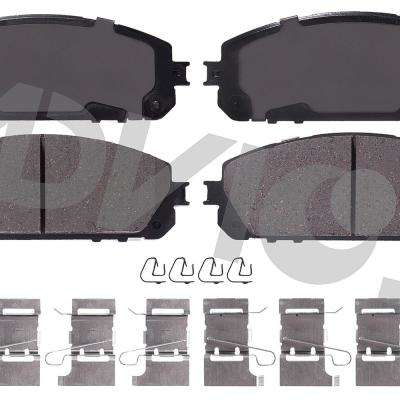 Front OE Disc Brake Pad Set fits 2014-2015 Jeep Cherokee