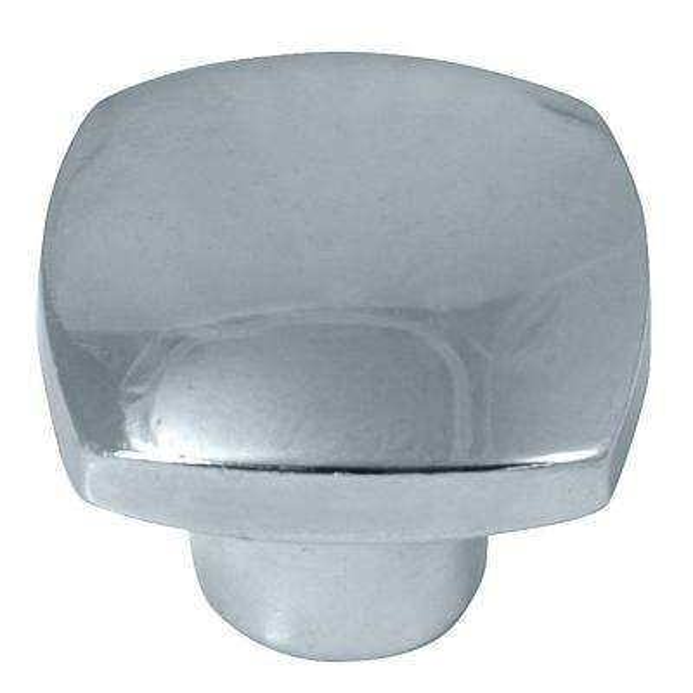 Aventura 1-1/2 in. Polished Chrome Square Knob