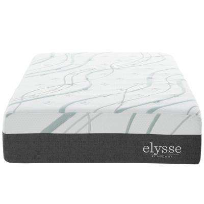 Elysse 12 in. White Twin CertiPUR-US Certified Foam Gel Infused Hybrid Mattress