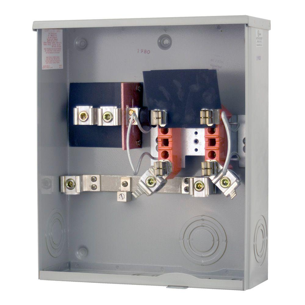 Milbank 200 Amp Ringless Underground Meter Socket