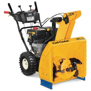 Cub Cadet 3X HD 24 inch 277cc Three-Stage Electric Start Gas Snow Blower with Steel Chute, Power Steering and Heated... by Cub Cadet