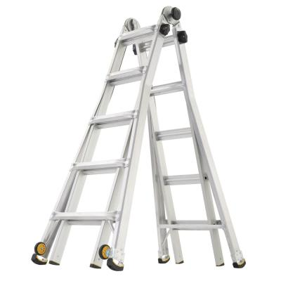 Gorilla Ladders 22 ft. Reach Multi-Position Ladder with Wheels