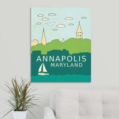 """Annapolis"" by Lisa Barbero Canvas Wall Art"