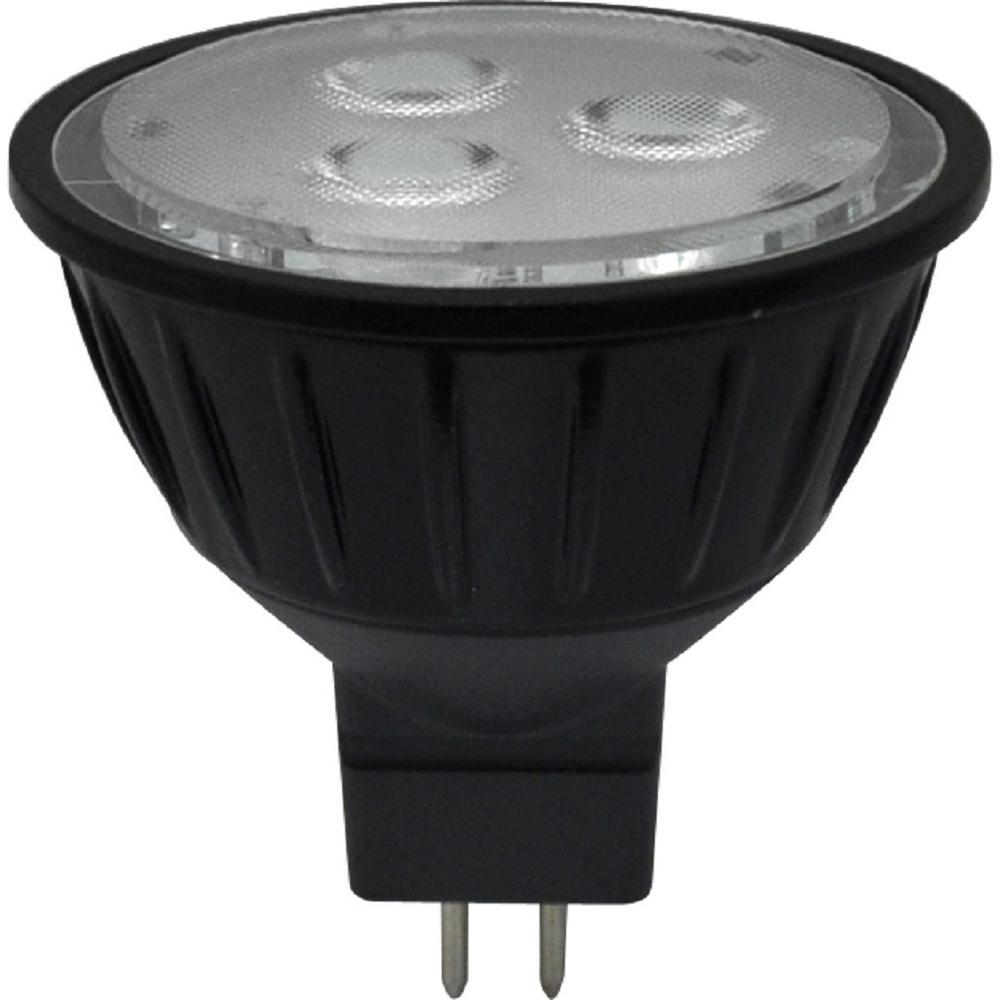 20-Watt Equivalent 3.5-Watt MR16 Dimmable LED Flood 40 Degree 10-18V Light Bulb GU5.3 Warm White 2700K 81098