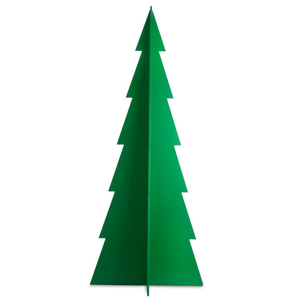 35.6 in. Christmas Tannenbaum Tree Decoration in Emerald Green