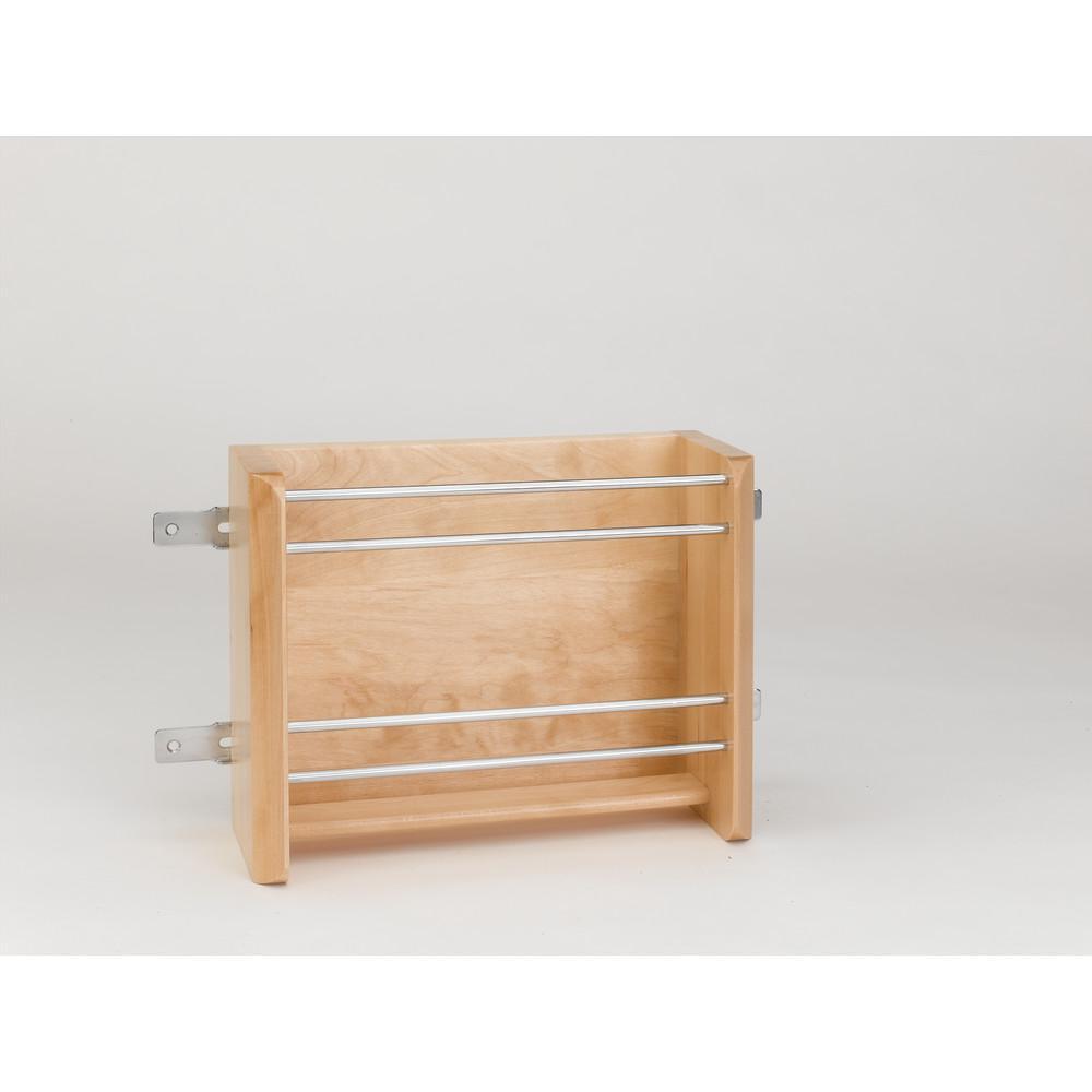 Rev-A-Shelf 8 in. H x 10.13 in. W x 4 in. D Small Door Mount Foil Rack