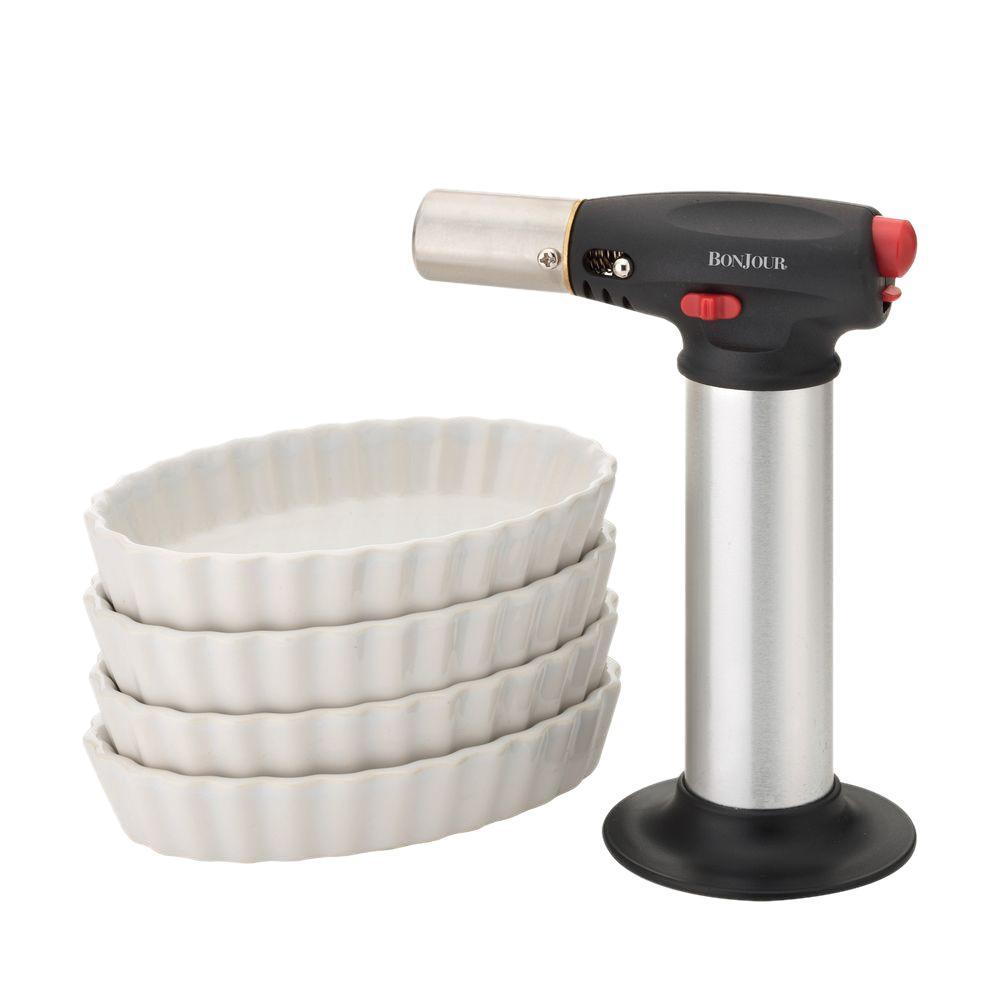 Ramekin Set with Creme Brulee Torch