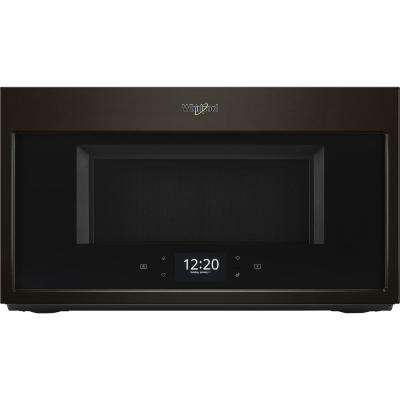 1.9 cu. ft. Smart Over the Range Microwave in Black Stainless with Scan-to-Cook Technology