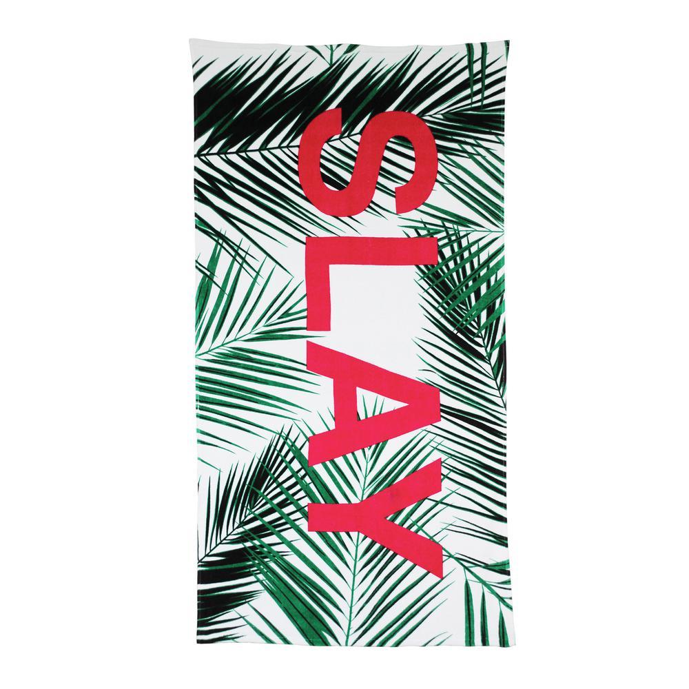 Slay 100% Cotton Beach Towel