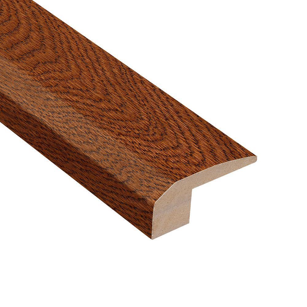 Gunstock Oak 3/8 in. Thick x 2-1/8 in. Wide x 78 in. Length Hardwood Carpet Reducer Molding