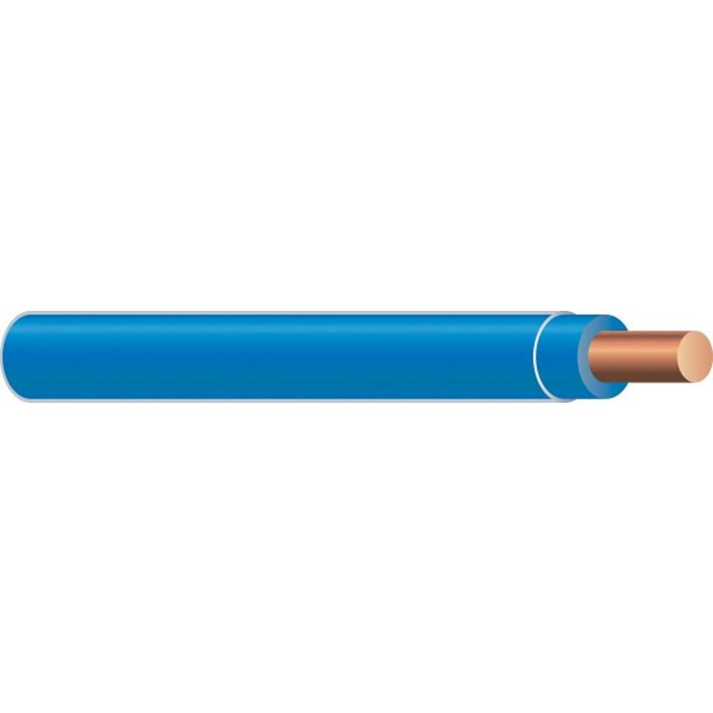 Southwire (By-the-Foot) 14 Blue Solid CU THHN Wire-11582499 - The ...