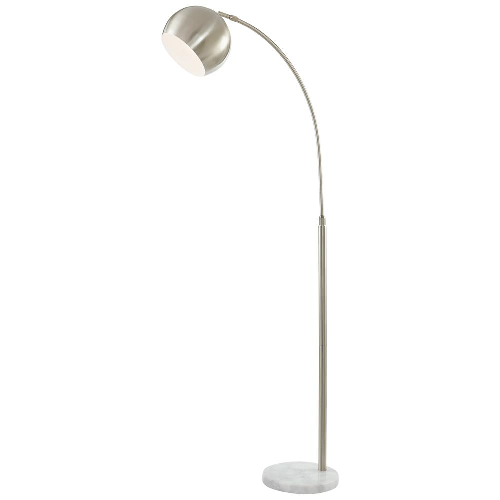 Brushed Nickel Dual Floor Lamp Home Decorators Collection LED 60 in