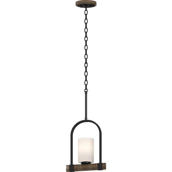 Lighting Tara 1 Light Walnut Pendant