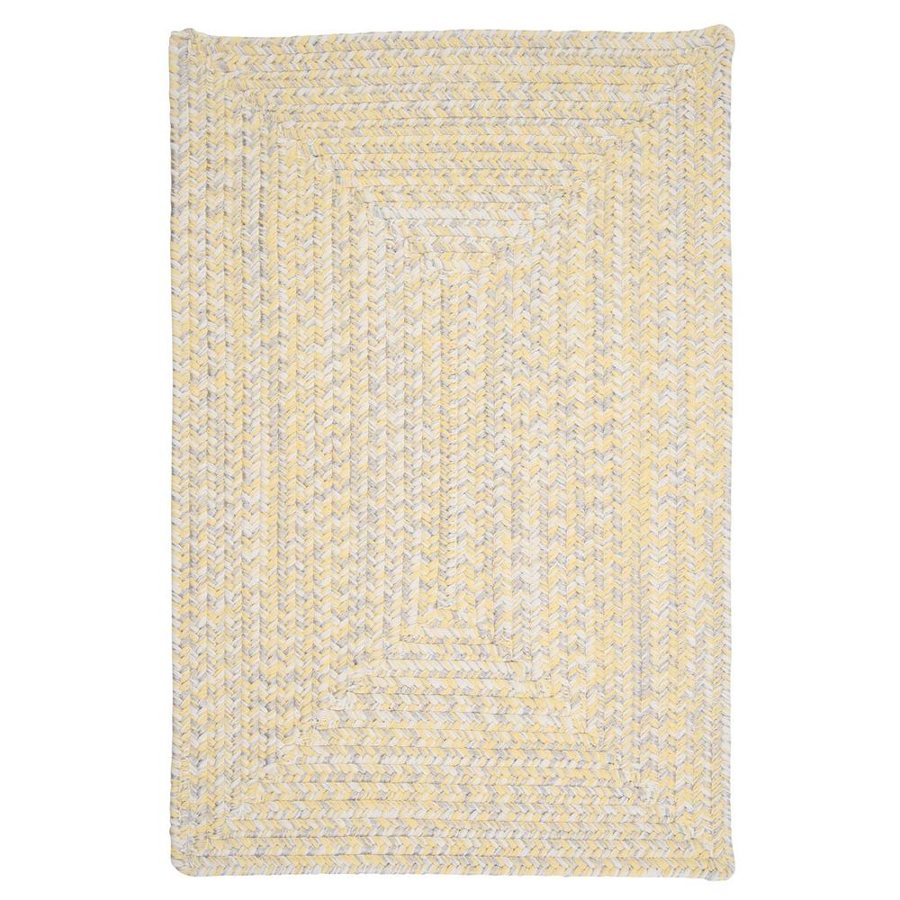 Home Decorators Collection Marilyn Tweed Sunflower 2 ft. x 10 ft. Braided Runner Rug