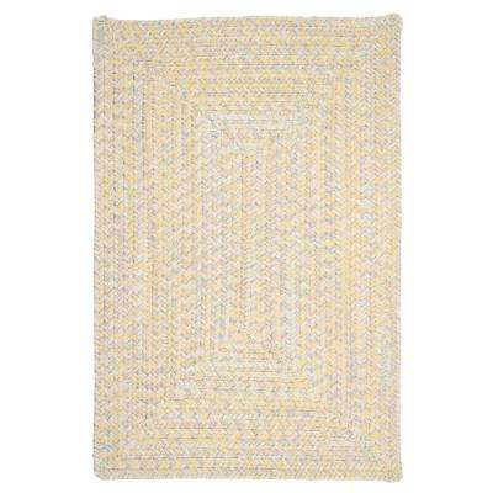 Marilyn Tweed Sunflower 2 ft. x 12 ft. Braided Runner Rug