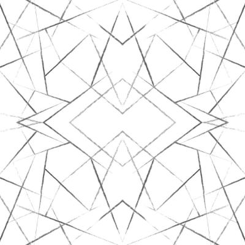 56 sq. ft. Geo Diamond Wallpaper