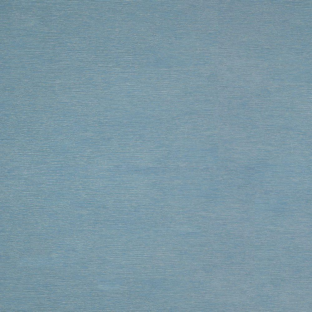 The Wallpaper Company 56 sq. ft. Blue Silk String Wallpaper-DISCONTINUED