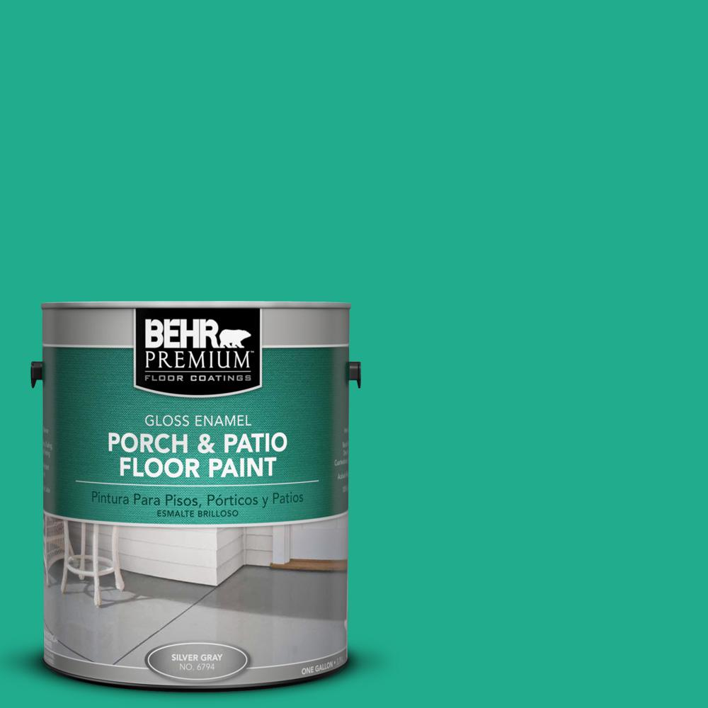1 gal. #P430-5 Enchanted Wells Gloss Porch and Patio Floor Paint