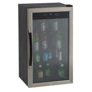 Click here to buy Avanti 18.75 inch 20 (8 oz.) Can Beverage Cooler in Black by Avanti.