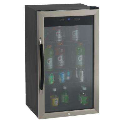18.75 in. 20 (8 oz.) Can Beverage Cooler in Black