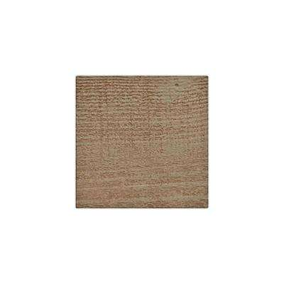 6 in. x 6 in. Rough Sawn Honey Dew Endurathane Faux Wood Ceiling Beam Material Sample