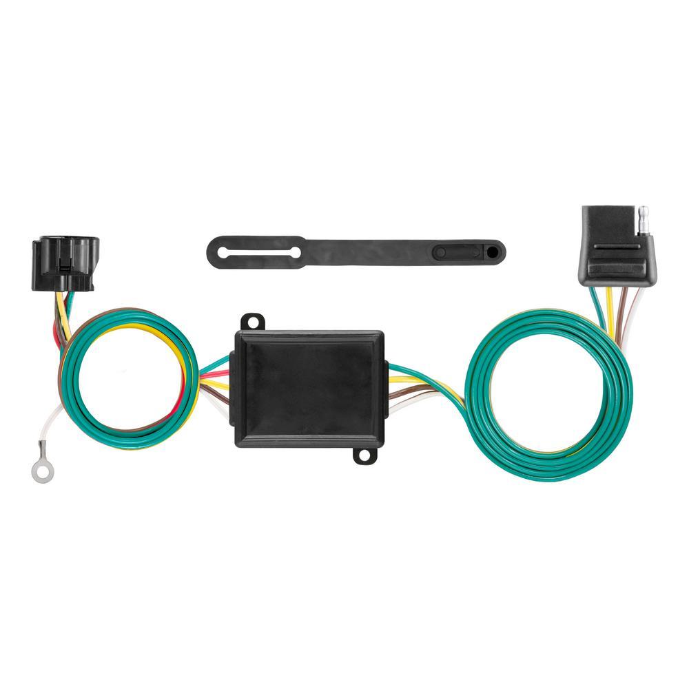curt custom towed vehicle rv wiring harness add on 58919. Black Bedroom Furniture Sets. Home Design Ideas