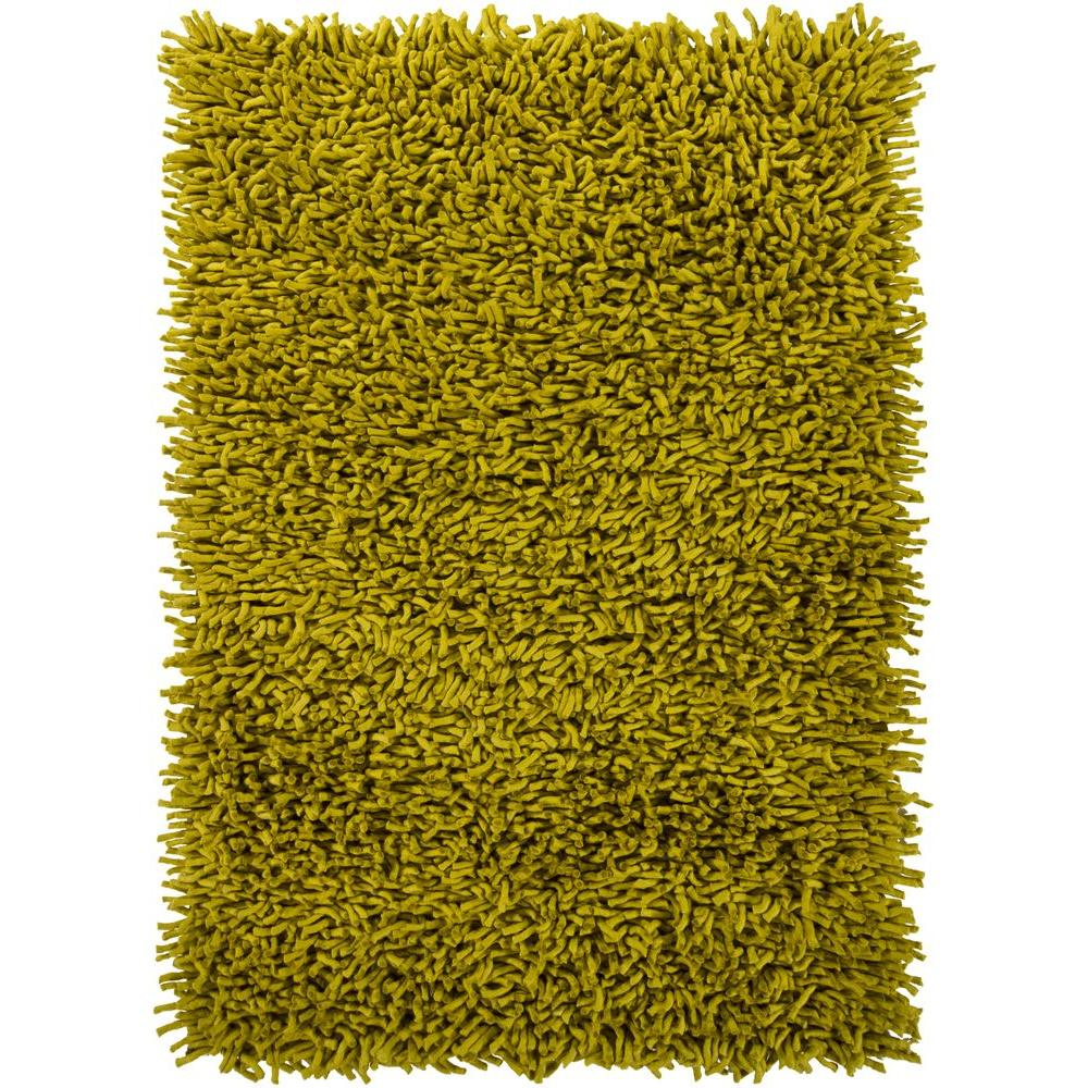 Chandra Montaro Green 9 ft. x 13 ft. Indoor Area Rug