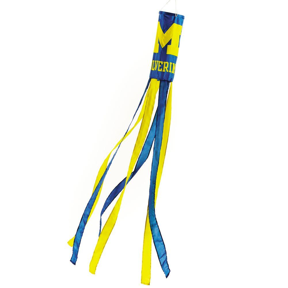 BSI Products NCAA Michigan Wolverines Wind Sock